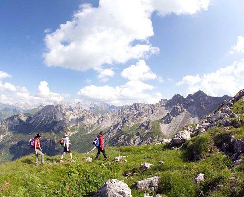 Bergtour im Kleinwalsertal