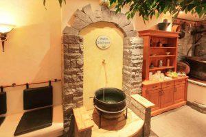 Biosauna im Hotel mit Wellnessbereich in Riezlern