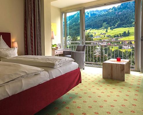 Doppelzimmer Wintergarten Hotel Erlebach BB Zimmervorschau