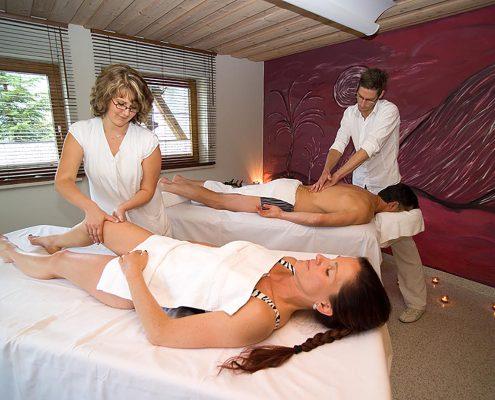 Massagezeit im Hotel Erlebach Gesunde Walser Wellness