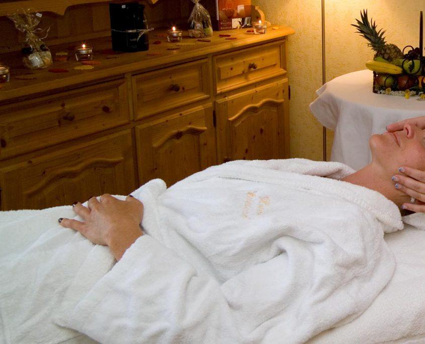 wohltuende Massagen Hotel Erlebach