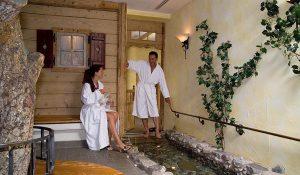 Wellnessbereich im Hotel Erlebach
