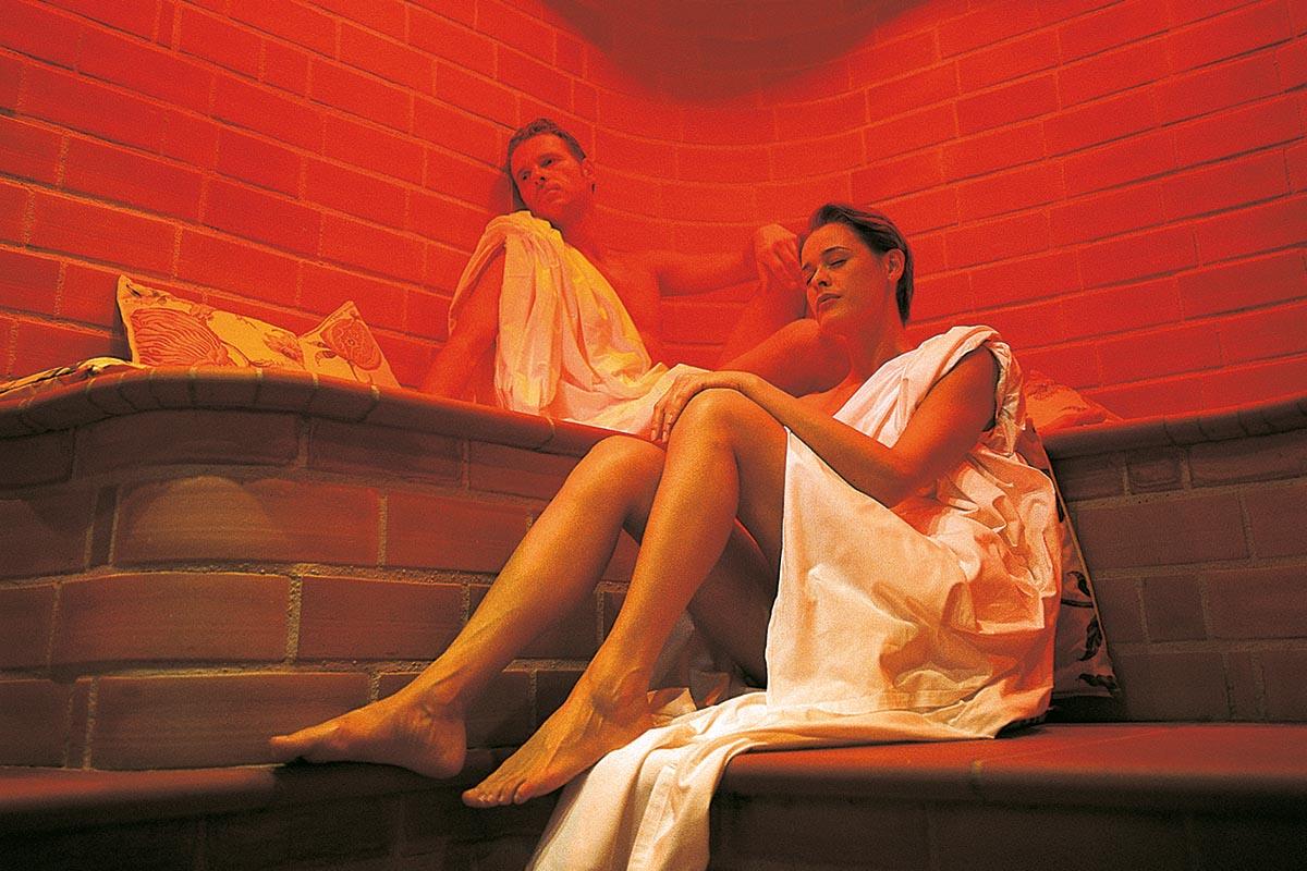Sauna im Erlebach Spa