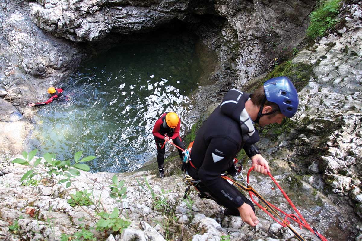 Klettersteigset Dav Leihen : Klettern und klettersteige hotel erlebach wellness wandern