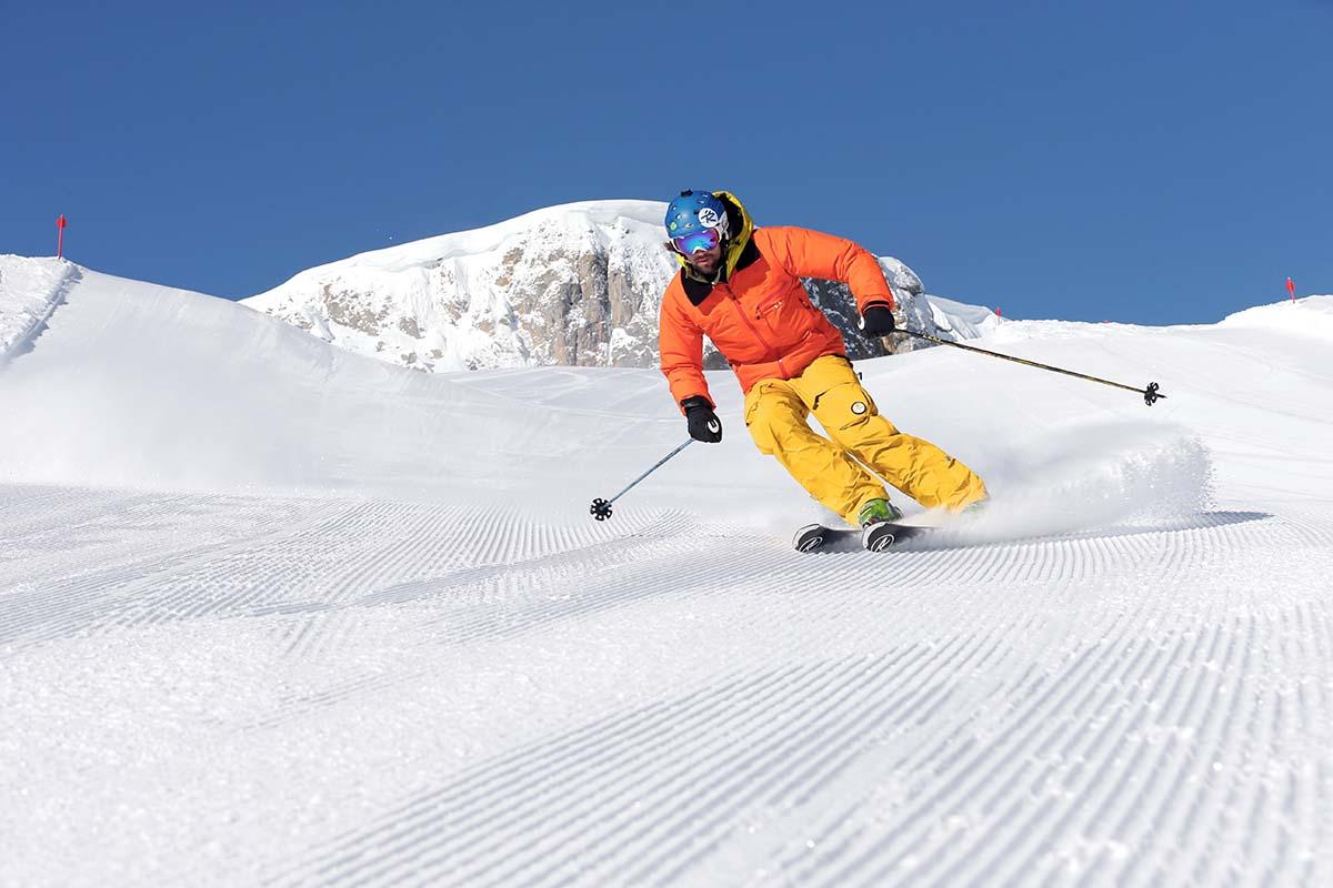 Das Skigebiet Kleinwalsertal / Oberstdorf