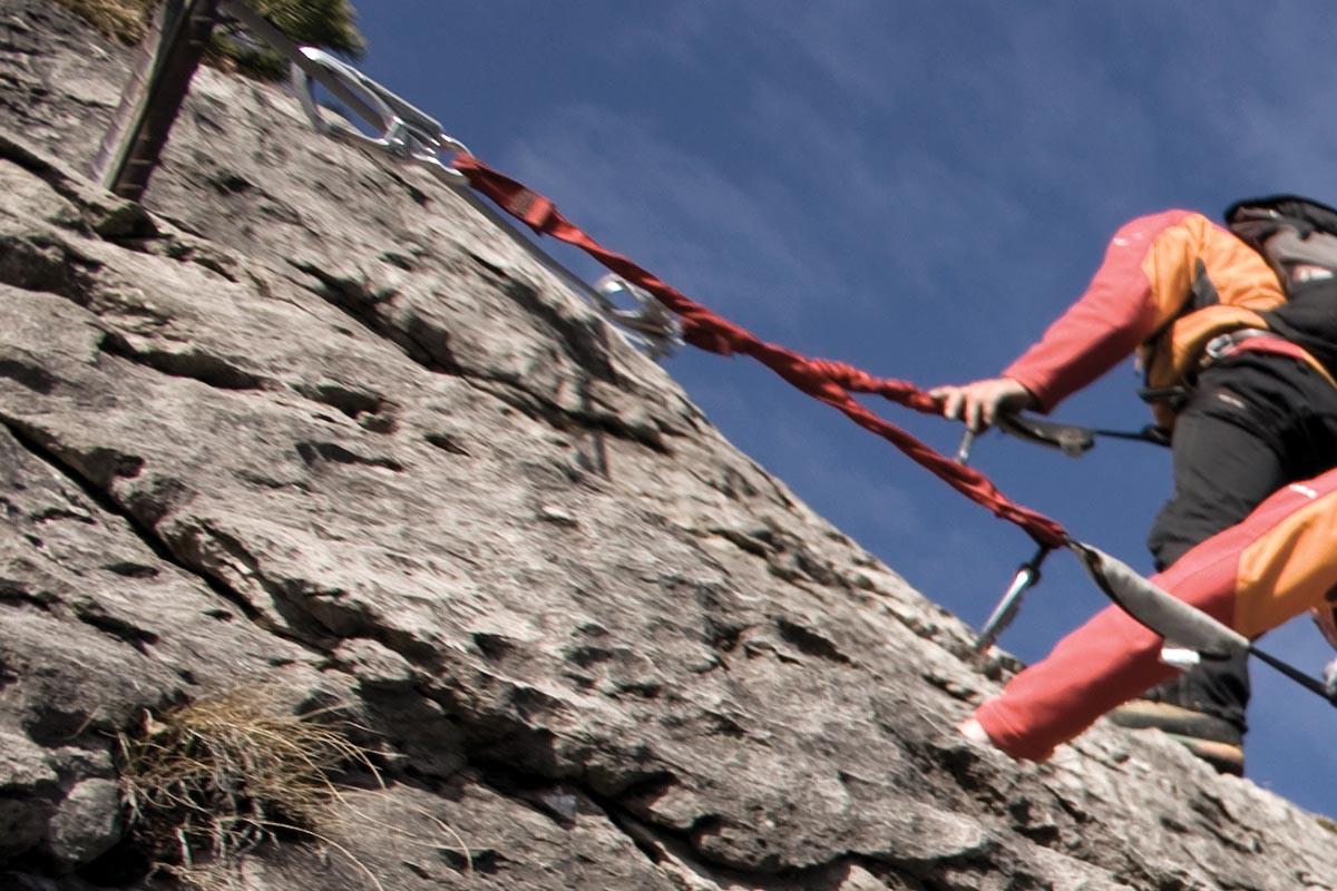 Klettersteigset Oberstdorf Leihen : Klettern und klettersteige hotel erlebach wellness wandern