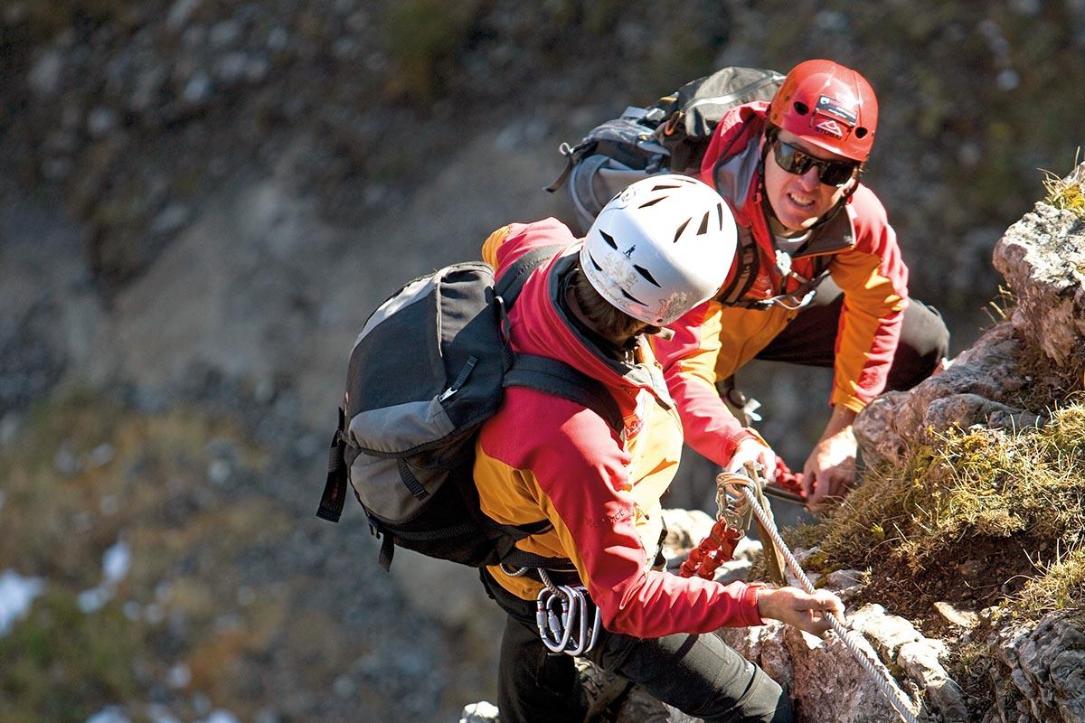 Klettersteig Kleinwalsertal : Klettern und klettersteige hotel erlebach wellness wandern