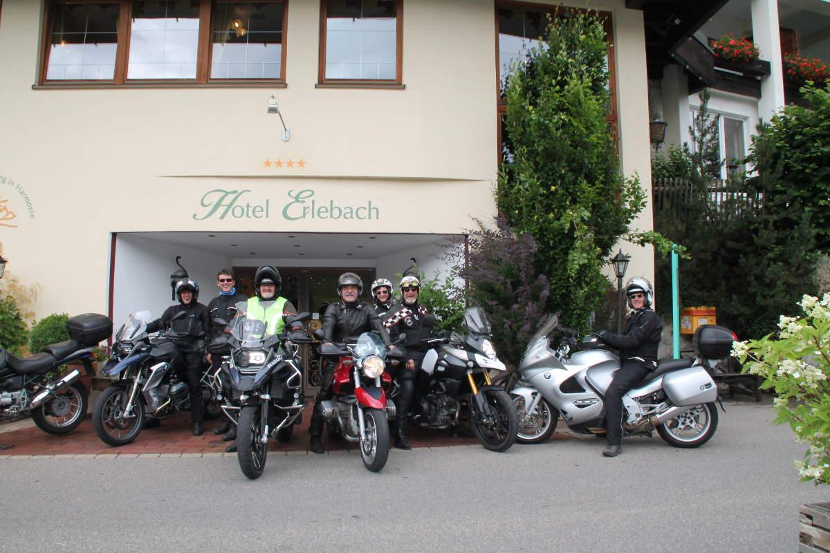 Motorradausfahrten mit Raimund Hotel Erlebach