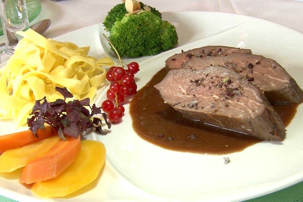 Abendessen inklusive im Hotel in Riezlern