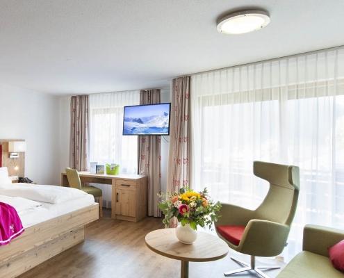 Doppelzimmer Hammerspitze BB Zimmervorschau Hotel Erlebach