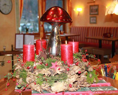 Adventszeit Hotel Erlebach Riezlern BB