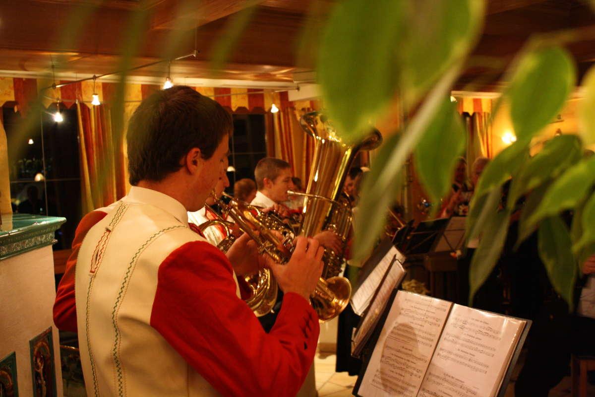 Turmbläser Weihnachten Hotel Erlebach BB