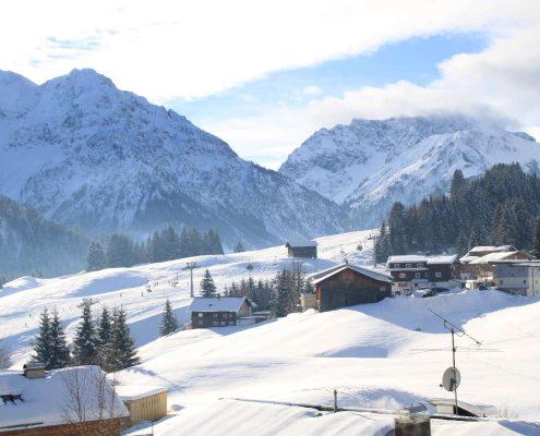Skitraumtage im März Hotel Erlebach Kleinwalsertal