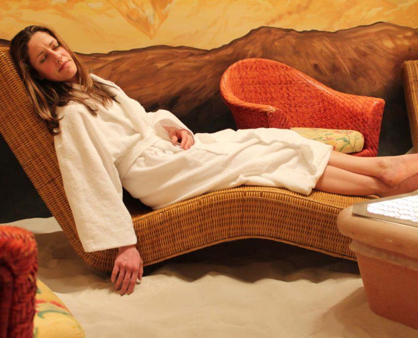 Relaxen im Garten Eden