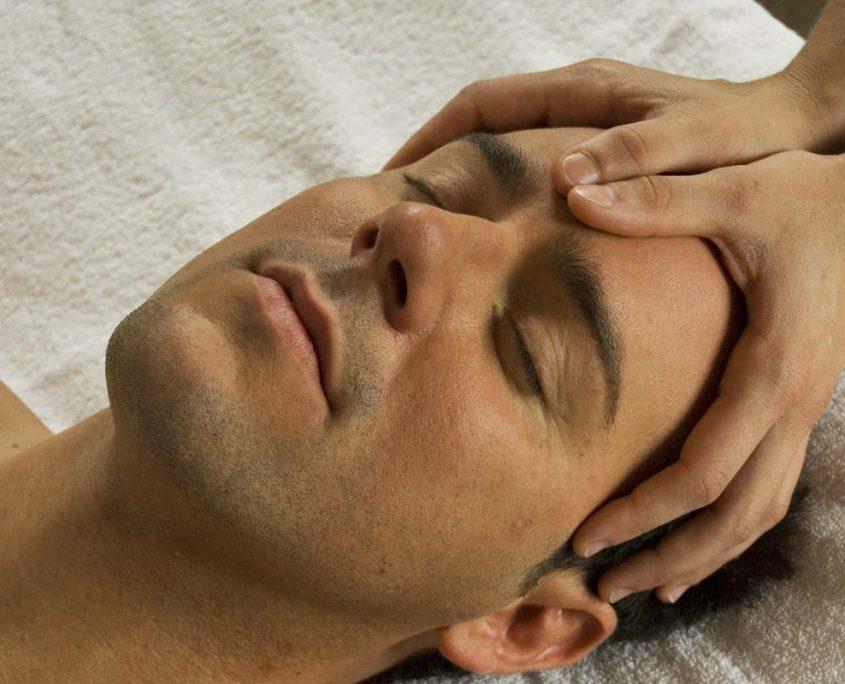 Kopfmassage Hotel Erlebach walser Wellness