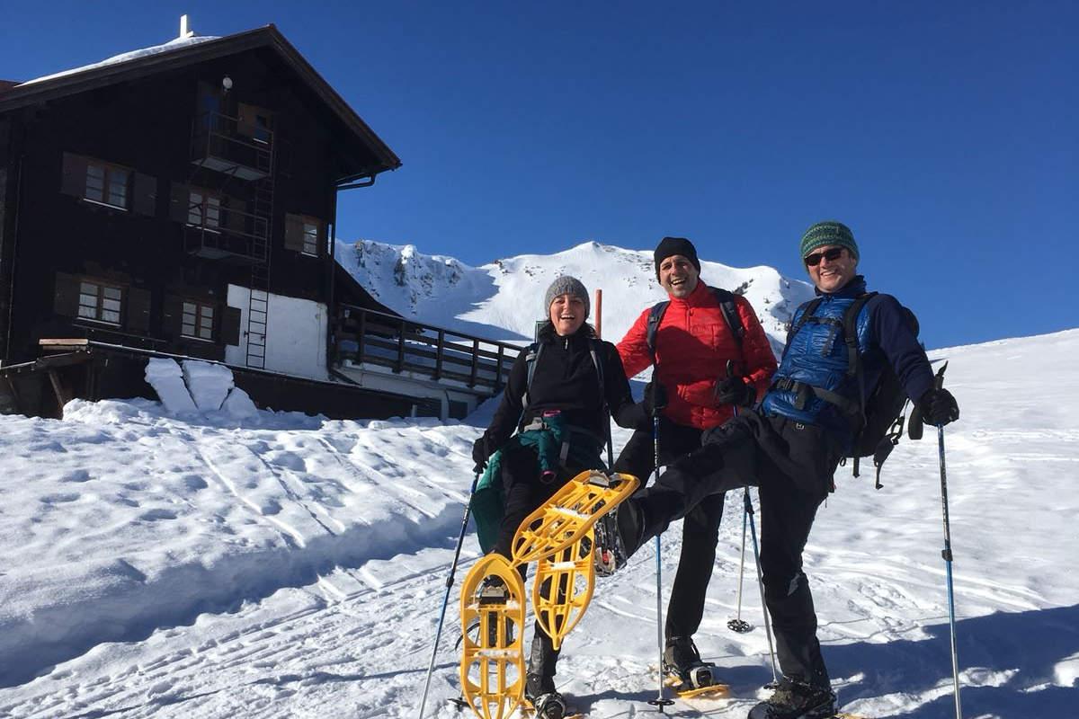 Schneeschuhtour mit Raimund zur Schwarzwasserhütte