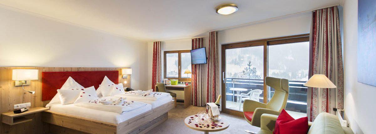 Doppelzimmer Romantik Hotel Erlebach Kleinwalsertal BB