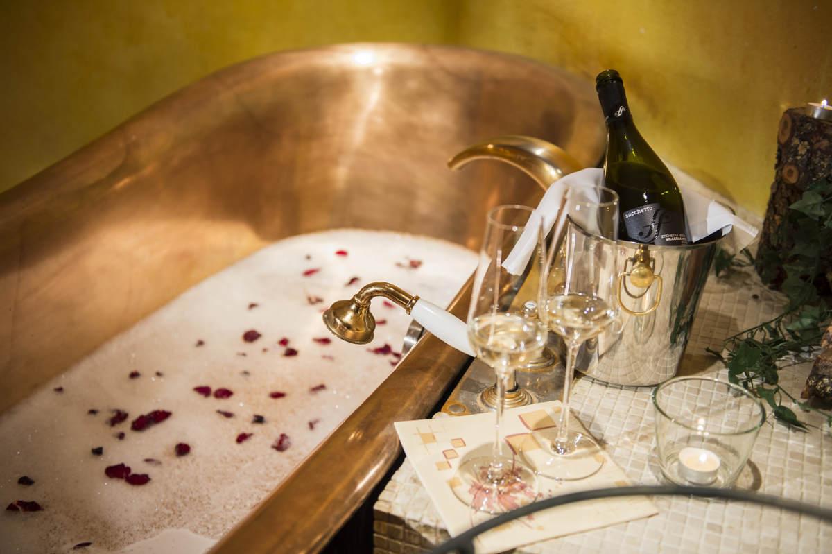 Champagnerbad für Zwei