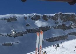 Traumhafter Skitag am Ifen Hotel Erlebach Kleinwalsertal BB