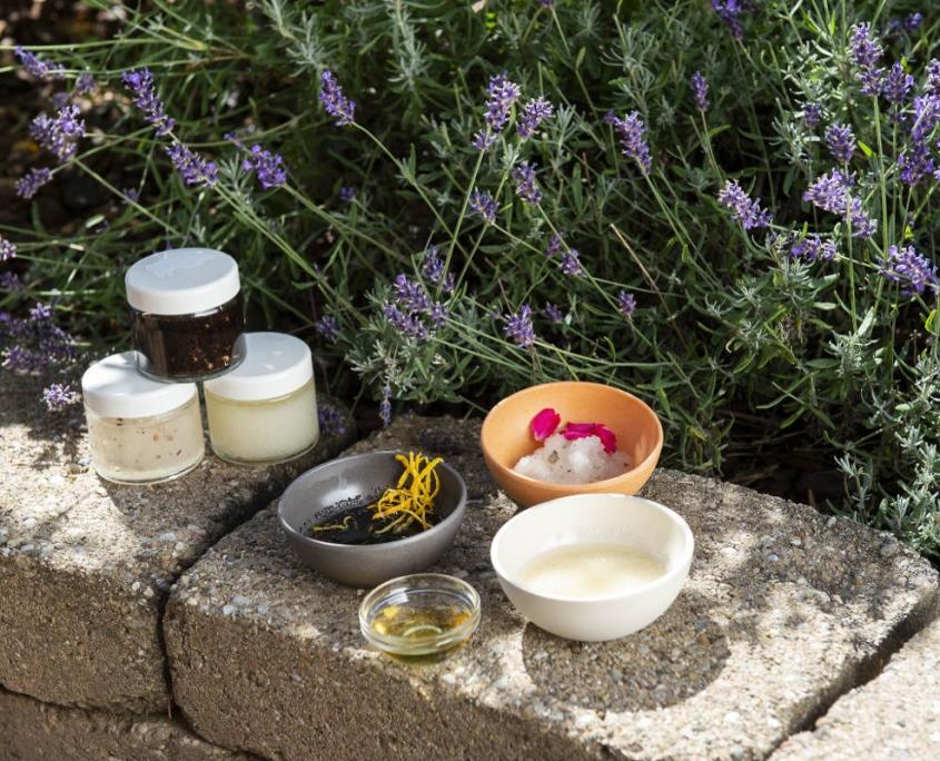 Wellness mit Naturprodukten im Hotel Erlebach Kleinwalsertal BB