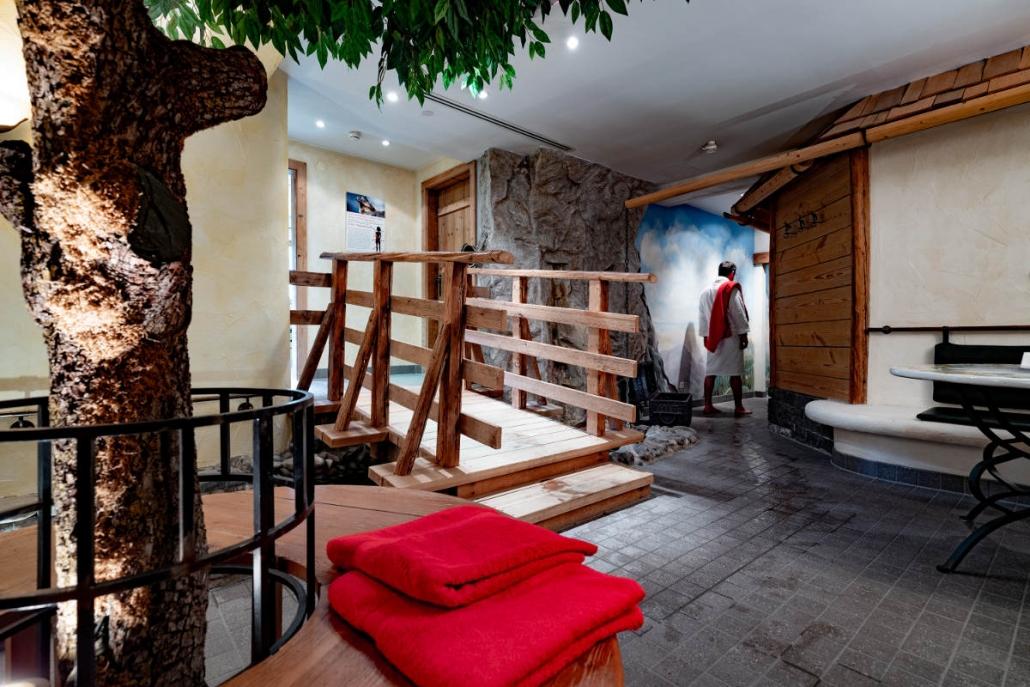 Wohlig Warm im Garten Eden Hotel Erlebach Kleinwalsertal