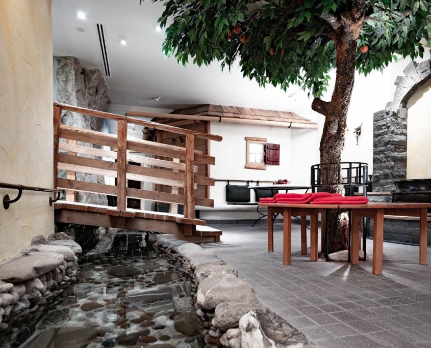Wellnessbereiche Garten Eden Hotel Erlebach Kleinwalsertal