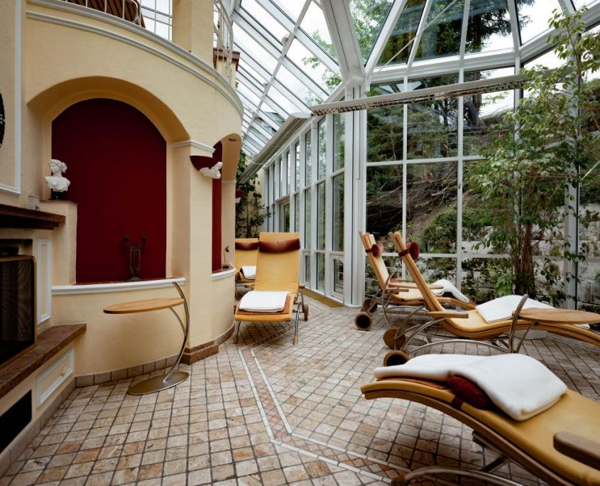 Licht Wintergarten Hotel Erlebach Kleinwalsertal